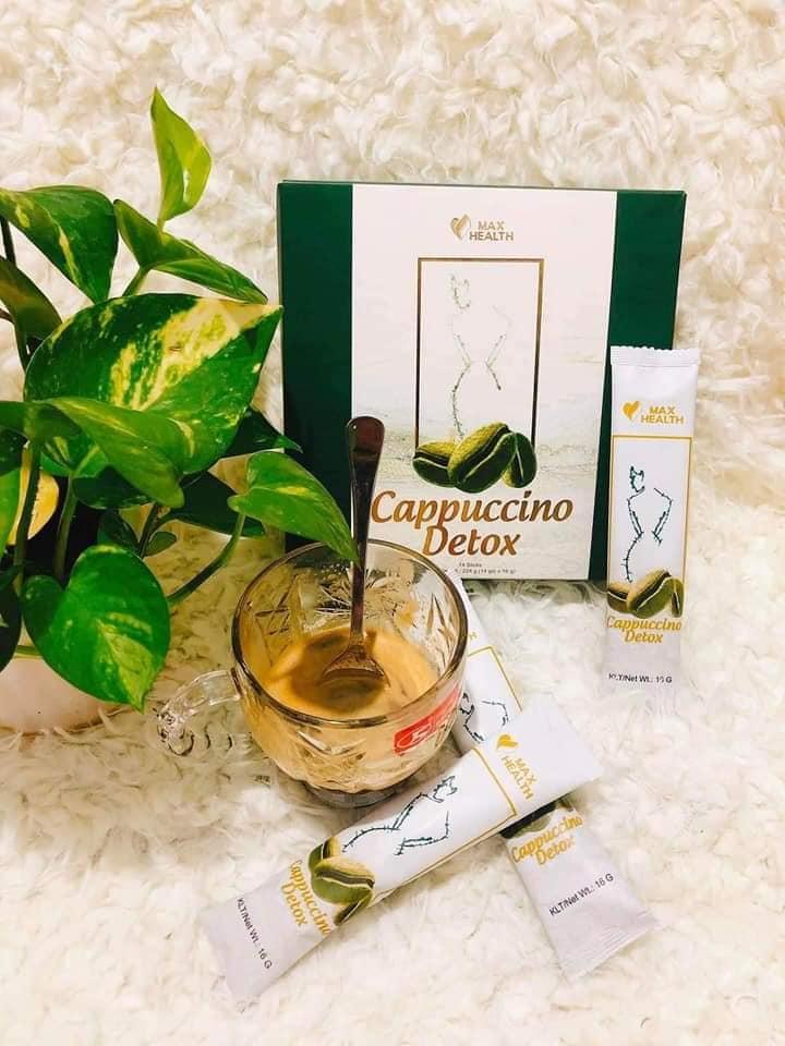 Cà phê Cappuccino Detox Max Health chính hãng - 8936188880016